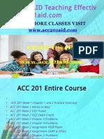 ACC 201 AID Teaching Effectively/acc201aid.com