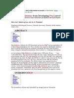 Pea Leave PDF
