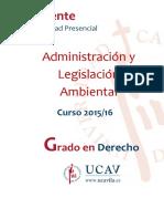 Programa Administración y Legislación Ambiental