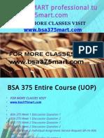 BSA 375 MART Professional Tutor Bsa375mart.com