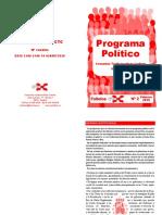 Folletos CTC Nº 2 Programa Político FORMATO IMPRESIÓN