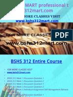 BSHS 312 MART Professional Tutor Bshs312mart.com
