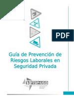 guia de prevencion de riesgos laborales en seguridad privada