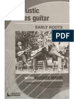Woody Mann Art of Acoustic Blues Guitar