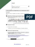 Como Preparar Un Hipertexto en Un Documento Word (1)