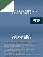 Strategi Dan Tehnik Manajemen