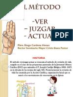 El Metodo Ver Juzgar Actuar en la catequesis