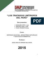 Tratados Limitrofes del Perú
