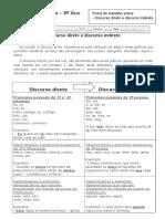 fichadereforosobrediscursodiretoediscursoindireto-121109135456-phpapp01