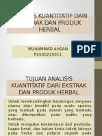 Tujuan Analisis Kuantitatif dari Ekstrak dan Produk Herbal.pptx