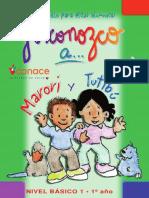 Cuadernillo 1er Año Yo Conozco a Marori y Tutibú