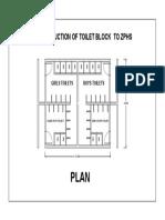 Toilet Block Model