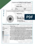 opi certificates