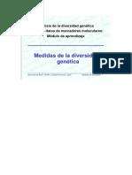 Medida de La Diversidad Genetica