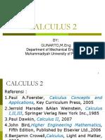 KULIAH Kalkulus 2 Tahun 2013