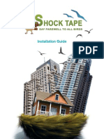 Bird Shock Tape Installation Guide