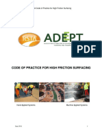 RSTA ADEPT Code of Practice for High Friction Surfacing 2011