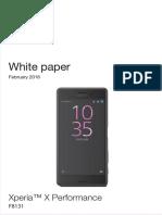 Xperia X Performance White Paper