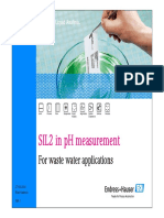 Endress+Hauser- SIL2 pH measurement