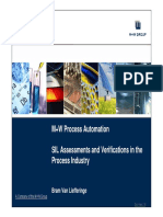 SIL Assessments and verifications - M+W Process Automation