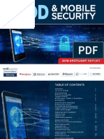 BYOD and Mobile Security Report 2016