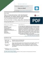 Data Ofmicrostructureandmechanical