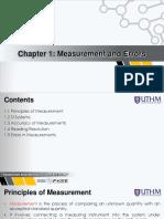 Measurement and Errors