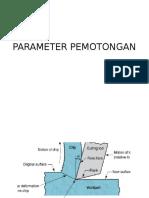 Parameter Pemotongan