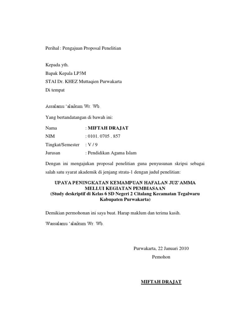 Contoh Proposal Skripsi Pai Tarbiyah Pdf To Excel Lasopadear
