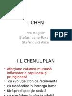 Licheni(dermatologie)
