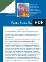 problem solving lesson plan3