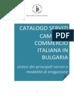 Catalogo Servizi CCIE SOFIA