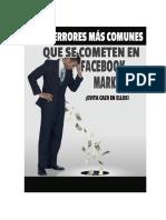 Los 10 Errores mas Comunes que se Cometenen Facebook Marketing