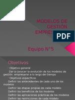 Modelos de Gestión Empresarial