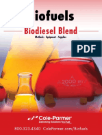 Biodiesel Blend Catalog