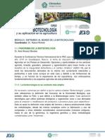 1.1. Panorama de La Biotecnología
