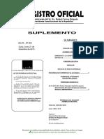 Suplemento Registro Oficial Nro. 653 de 21 de Diciembre de 2015
