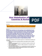 How Globalization Affects Countries and Markets