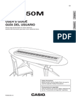 PX 350 Piano Manual