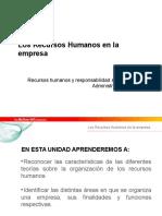 Recursos Humanos y Responsabilidad Corporativa