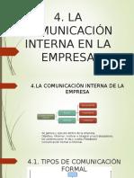 La Comunicación Interna de La Empresa