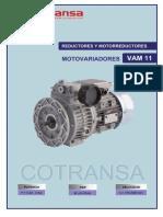 Vam11 Cotransa Catalogo Reductores y Motoreductores Motovariadores