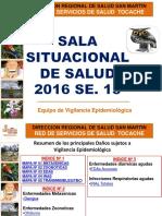 Sala Situcional Semana 15 -2016-Red Tocache