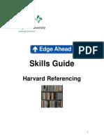 Harvard Referencing Edge Hill
