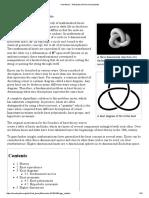 Knot Theory - Wikipedia, The Free Encyclopedia