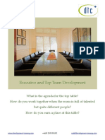 Top Team Development Brochure