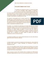 Inatalacion de Camara Termica Para La Produccion de Hijuelos de Platano