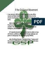 GSP Movement History
