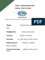 Cuál Es El Objeto Del Registro Mercantil