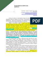 Interpretaciones Históricas Acerca Del Conocimiento Científico. José Padrón